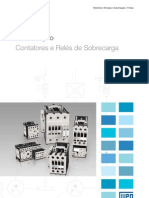 WEG Cont at Ores e Reles de Sobrecarga Folheto 905 Catalogo Portugues Br