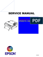 Epson FX1180 Service Manual