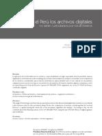Archivos Digitales en El Peru