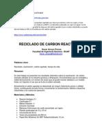 Reactivacion de Carbon Activado