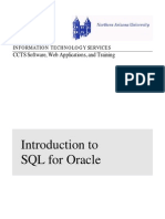 SQL and SQL Plus Basics