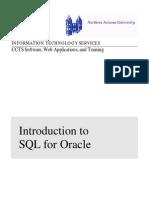 SQL and SQL Plus Basics