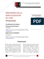Icono14. A9/ESP. Discursos de la sexualidad en el cine. Presentación