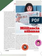 La Política se Metió en la Cama. Nota de tapa Revista El Guardián.