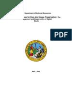 AH Best Practices Digital Preservation Final 2008-04-01