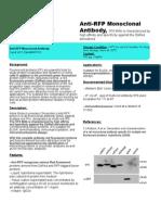 Anti-RFP (5F8) Monoclonal Antibody