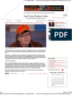 Michael Moore the Rich Are Out of Control, Kleptomaniacs, Sociopaths Real Clear Politics