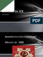 Década de XX -2