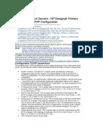 HP Jetdirect Print Servers