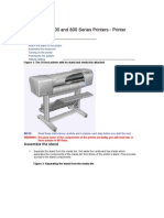 HP Designjet 500 and 800 Series Printers