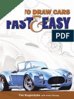 Aprender a dibujar autos en español Completo