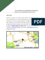 PLAN DE DESARROLLO TURISTICO EN COMUNIDADES ALEDAÑAS AL LAGO