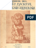 Ave, agente del Dios por Rebeca Carrión Cachot + Homenaje a J. C. Tello por Francisco Iriarte Brenner