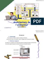 Architecture Ordinateur
