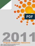 pedomanprogramkreativitasmahasiswa2011-110627022036-phpapp01