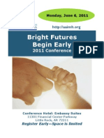 Bright Futures Begin Early-Conference Registration Materials