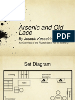 Arsenic and Old Lace Set Analysis