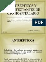 ANTISÉPTICOS Y DESINFECTANTES DE USO HOSPITALARIO KAREN GONZALEZ II