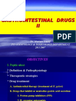 Pharma - 4th Asessment - GIT Lecture Slides - II - 27 Jan 2007