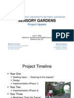Sensory Gardens - Oklahoma State University Botanic Gardens