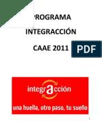 Programa Integraccion