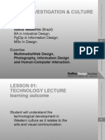 Design, Investigation & Culture