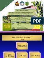 organisasi SMAHMY 2011