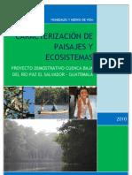Caracterizacion ecologica humedales Río Paz final