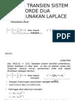 Transient Pada Rangkaian Listrik Laplace