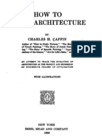 Caffin - How to Study Architecture