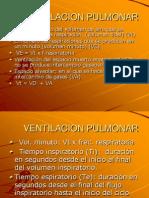 CLASE 10 ventilacion pulmonar