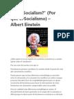 Why Socialism Einstein