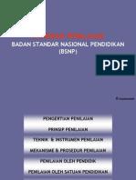 Standar Penilaian (BSNP)
