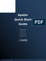 Apatar Quick Start Guide