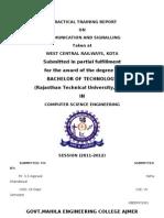 Neha Training Report