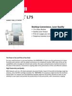 Faxphone l75 Spec
