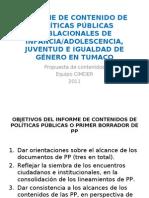 CONTENIDO DE POLÍTICAS PÚBLICAS Tumaco Sep 5