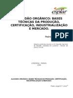 Algodao Organico Bases Tecnicas