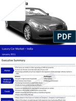Luxury Car Market in India