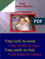 Kuiz Bahasa Melayu
