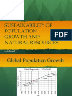 Population Density and Natural Resources