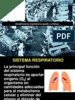 Insuficiencia Respiratoria Aguda y Cronica