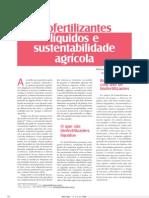Biofertilizantes líquidos