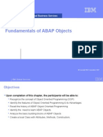 Chapter 01_Fundamentals of ABAP Object
