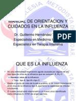 Manual de Orientacion y Cuidados en La Influenza