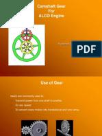 Cam Shaft Gear Presentation