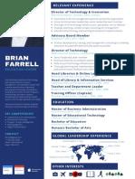 Brian Farrell CV