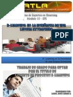 Blearning en La Ensenanza de Una Lengua Extranjera