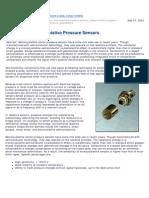 Demystifying Piezoresistive Pressure Sensor