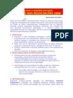 Prog Venc NegociaÇÕes 2008